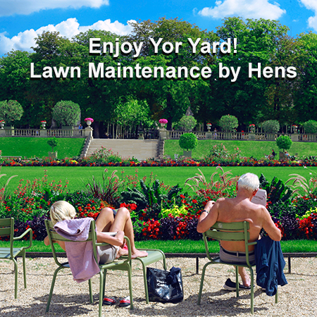 You only want the best for your yard and Hens Mowing and landscaping are experts at making your yard look like a million dollars for a very reasonable weekly, bi-weekli or monthly cost